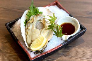 岩牡蠣のシーズンです♪